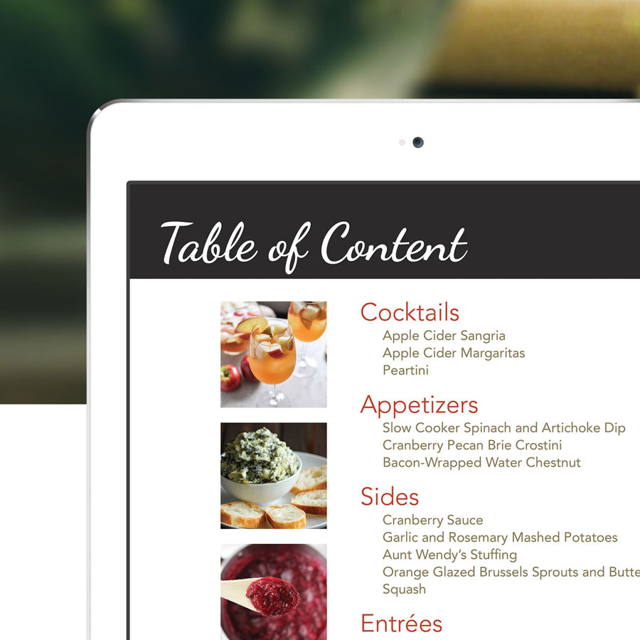 Ebook Thanksgiving Recipe