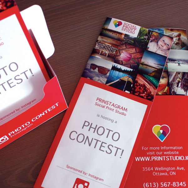 Instagram Contest Brochure